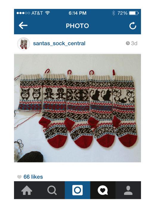 santa-sock